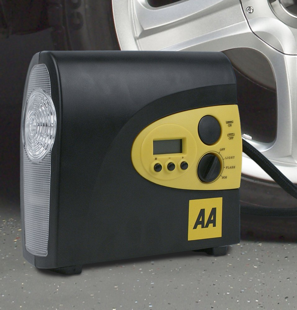 AA Car Essentials 12-Volt Digital Tyre Compressor