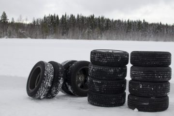 low tyre pressure winter