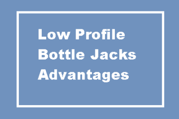 Low Profile Bottle Jacks