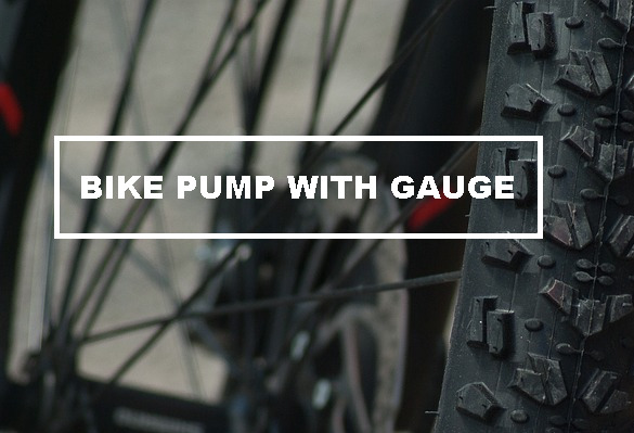 bike pump with gauge